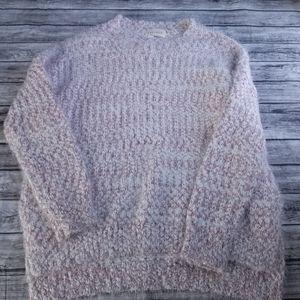 Dreamers Marled Eyelash Oversized Knit Sweater